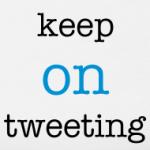 Keep On Tweeting t-shirt design