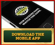The Green Bay Packers official mobile app