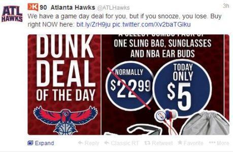 Atlanta Hawks tweet