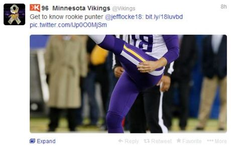 Vikings tweet