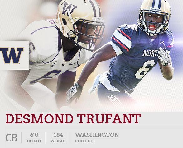 Desmond Trufant draft hub info