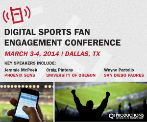Digital Sports Fan Engagement Conference