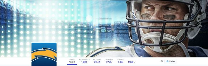 Chargers Twitter header