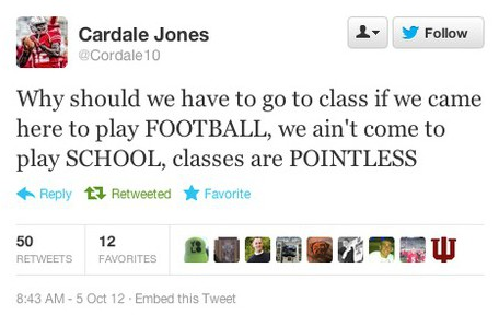 cardale jones tweet